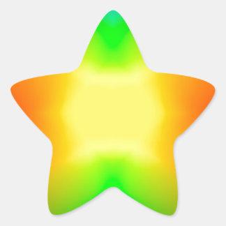 Sticker Étoile L'univers de division