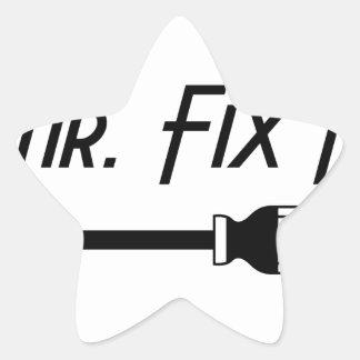 Sticker Étoile M. Fix It