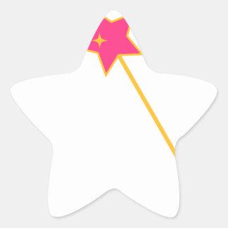 Sticker Étoile magic a tordu