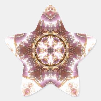 Sticker Étoile Mandalas du coeur du changement 14, articles de
