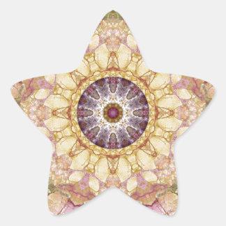 Sticker Étoile Mandalas du coeur du changement 2, articles de