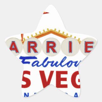 Sticker Étoile Marié à Las Vegas fabuleux, enseigne au néon du