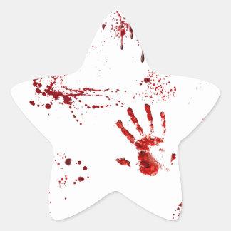 Sticker Étoile Massacre
