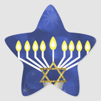 Sticker Étoile Menorah