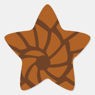 Sticker Étoile Mer Shell