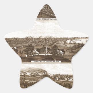 Sticker Étoile Milwaukee 1882