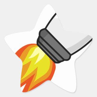 Sticker Étoile Missile de Rocket
