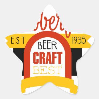 Sticker Étoile Modèle de conception de logo d'Oktoberfest