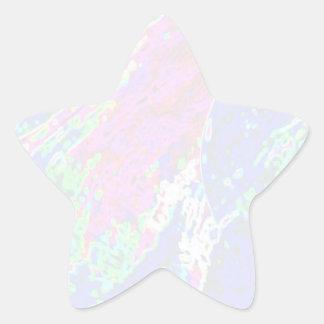 Sticker Étoile Modèle d'étoile de NOVINO - vagues