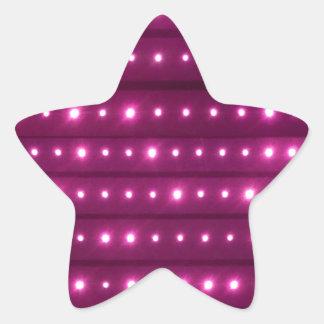Sticker Étoile Motif de rayures de galaxie