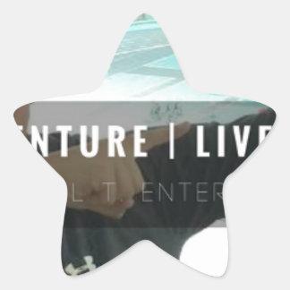 Sticker Étoile motivation - vente - mentalité