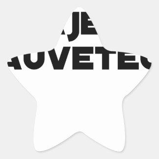 Sticker Étoile Naître Majeur Sauveteur - Jeux de Mots