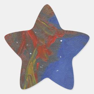 Sticker Étoile Nébuleuse