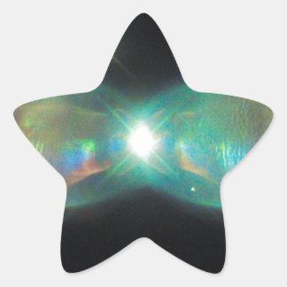 Sticker Étoile Nébuleuse de Twin Jet