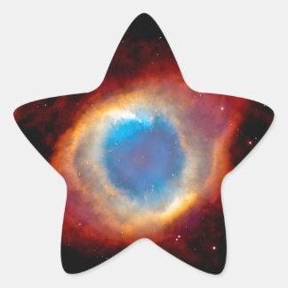 Sticker Étoile Nébuleuse planétaire NGC 7293 d'hélice - oeil de