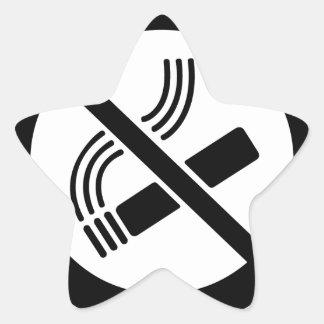 Sticker Étoile Non-fumeurs