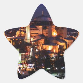 Sticker Étoile Nuit de Hagia Sophia