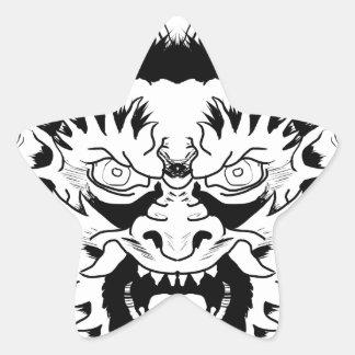 Sticker Étoile Nymphe de diable