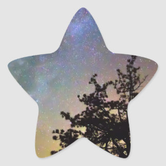 Sticker Étoile Obtenez perdu dans l'espace
