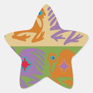 Sticker Étoile Oiseaux péruviens