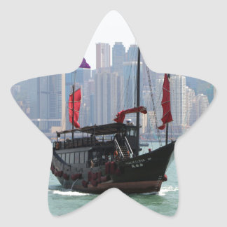 Sticker Étoile Ordure chinoise, Hong Kong 2