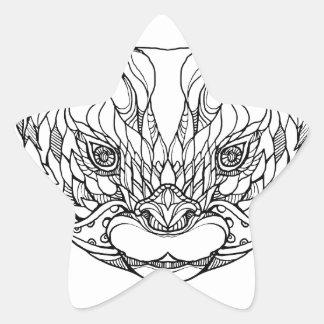 Sticker Étoile Oriental De petite taille-a griffé l'art de
