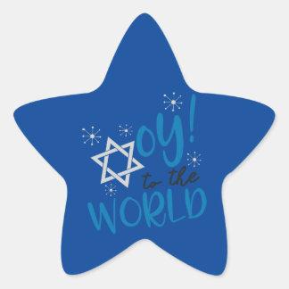 Sticker Étoile Oy au monde