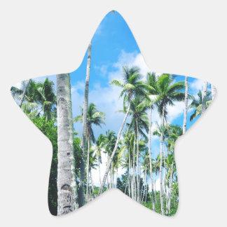 Sticker Étoile Paradis dans le Pacifique