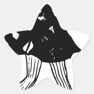 Sticker Étoile Patinage de Madame glace