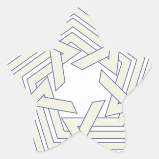 Sticker Étoile Penta