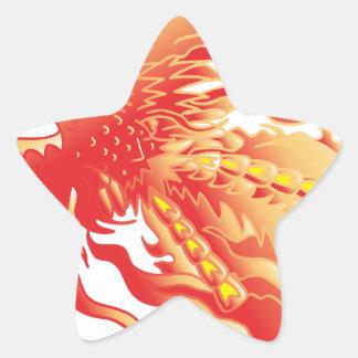 Sticker Étoile Phoenix