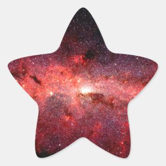 Sticker Étoile Photo de l'espace de galaxie de manière laiteuse
