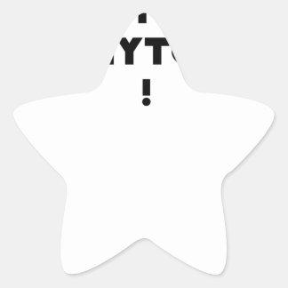 Sticker Étoile PHYTOTHERAPY : AU PHYTO DIT, AU PHYTO FAIT ! - Jeu