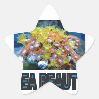 Sticker Étoile pile de beauté de mer