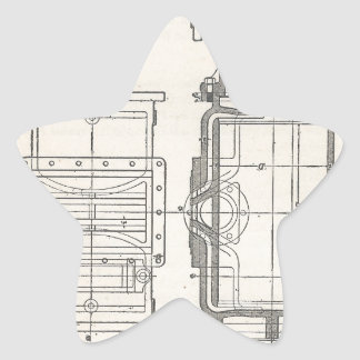 Sticker Étoile Pocletbook du mécanicien