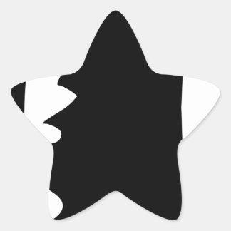 Sticker Étoile Poing augmenté