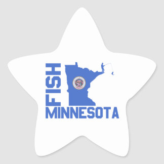 Sticker Étoile Poissons Minnesota