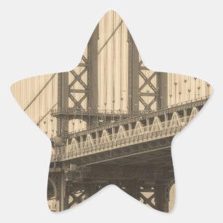 Sticker Étoile Pont de Manhattan