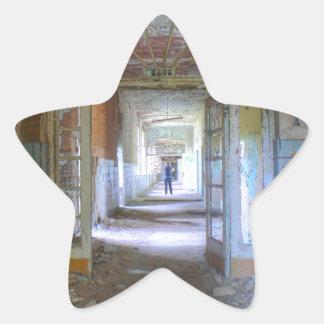 Sticker Étoile Portes et couloirs 03,0, endroits perdus, Beelitz