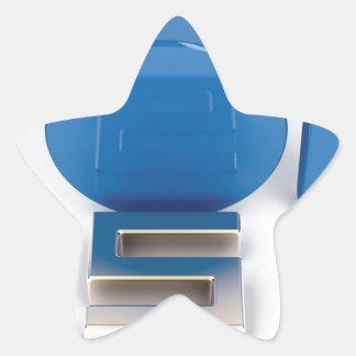 Sticker Étoile Principal 5