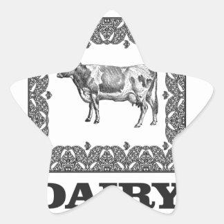 Sticker Étoile Prix de laiterie