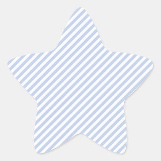 Sticker Étoile Rayure bleue de tente d'Alice dans le jardin