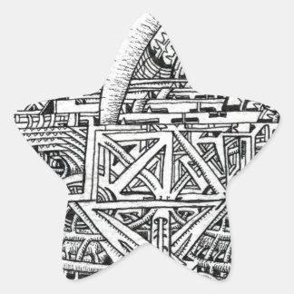 Sticker Étoile Réservoir de tentacule par Brian Benson