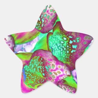 Sticker Étoile rêve de couleur