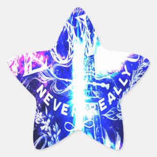 Sticker Étoile Rêves parisiens iridescents ceux qui nous aiment