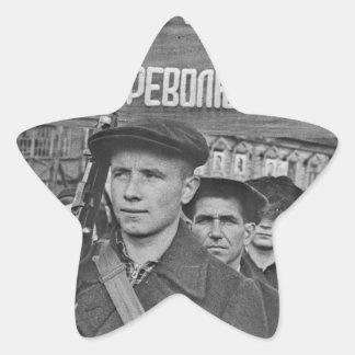 Sticker Étoile Révolution d'octobre