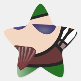 Sticker Étoile Robin Hood