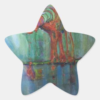 Sticker Étoile Robinet rouillé