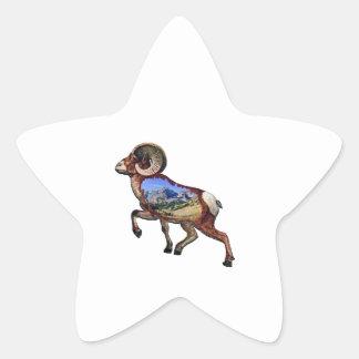 Sticker Étoile Roche et promenade
