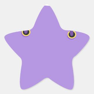 Sticker Étoile Sac à provisions